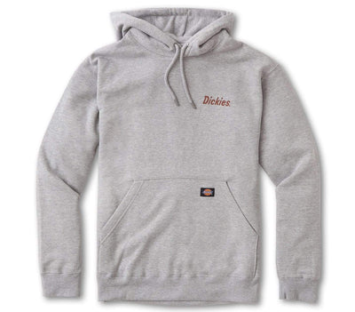 Graphic Pullover Hoodie - Heather Gray Outerwear Dickies Heather Gray S