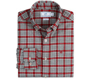 Point Joe Plaid Sport Shirt Tops Southern Tide Chili Pepper S