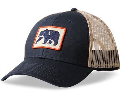Dano Trucker Hat - Navy Headwear The Normal Brand Navy