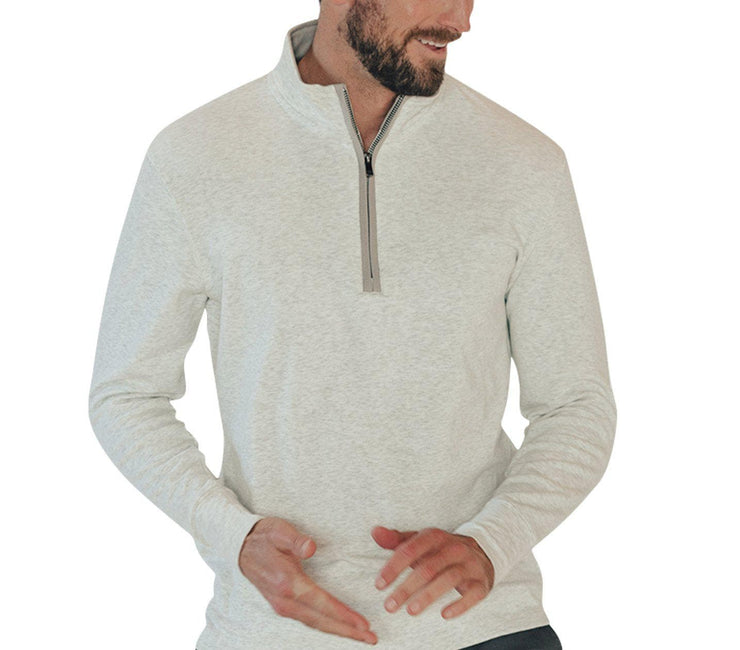 Puremeso Quarter Zip Pullover Outerwear The Normal Brand