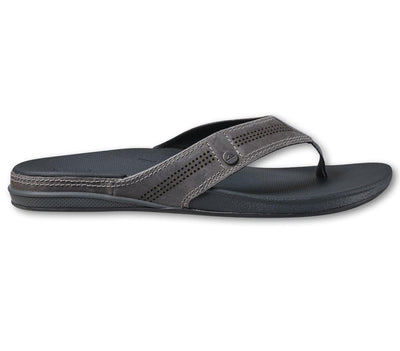 Cushion Lux Leather Sandals - Grey Footwear REEF Grey 9