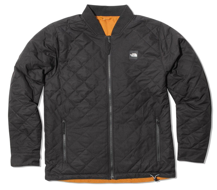 Jester Reversible Jacket - Black / Timber Tan Outerwear The North Face