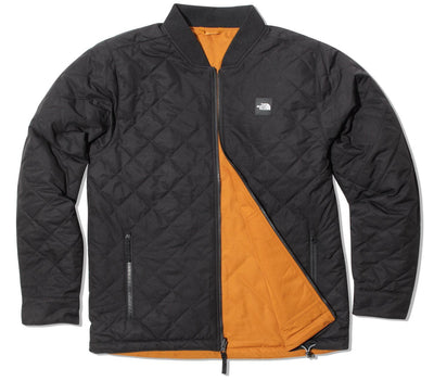 Jester Reversible Jacket - Black / Timber Tan Outerwear The North Face Black / Timber Tan M