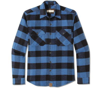 Briggs Flannel Tops Dakota Grizzly Blueprint M