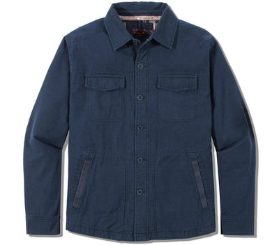 Military CPO Shirt Jacket Outerwear The Normal Brand Blue M