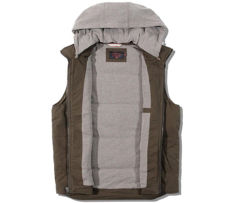 Dano Hooded Athletic Vest Outerwear The Normal Brand