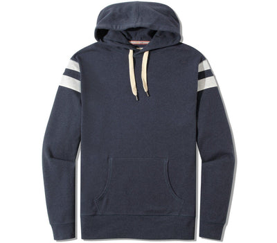 Retro Puremeso Hoodie Outerwear The Normal Brand Navy S