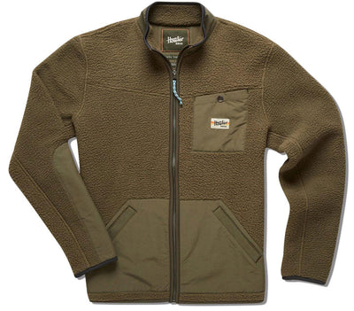 Chisos Fleece Jacket Outerwear Howler Bros Barracks Green S