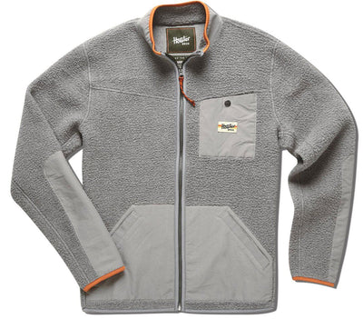 Chisos Fleece Jacket Outerwear Howler Bros Cement Grey S