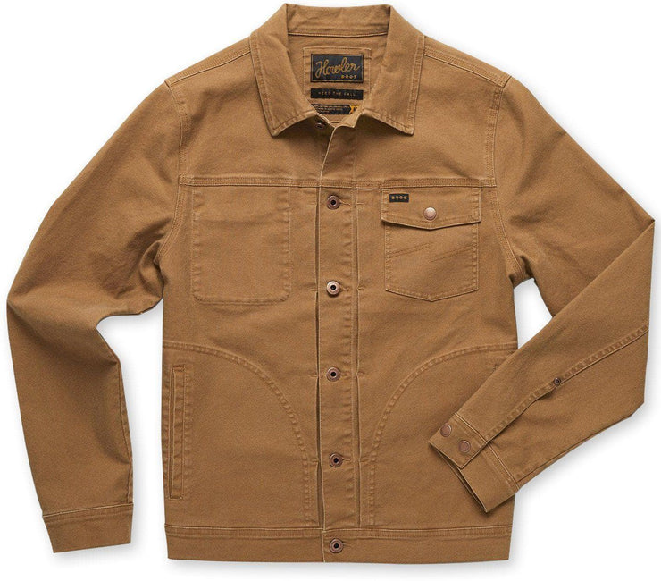 HB Depot Jacket - Duck Brown Canvas Outerwear Howler Bros Duck Brown Canvas S