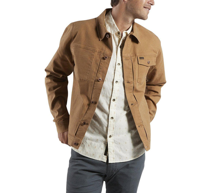 HB Depot Jacket - Duck Brown Canvas Outerwear Howler Bros