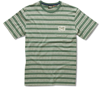 Pictograph Jacquard Tee Tops Howler Bros Pines Green S