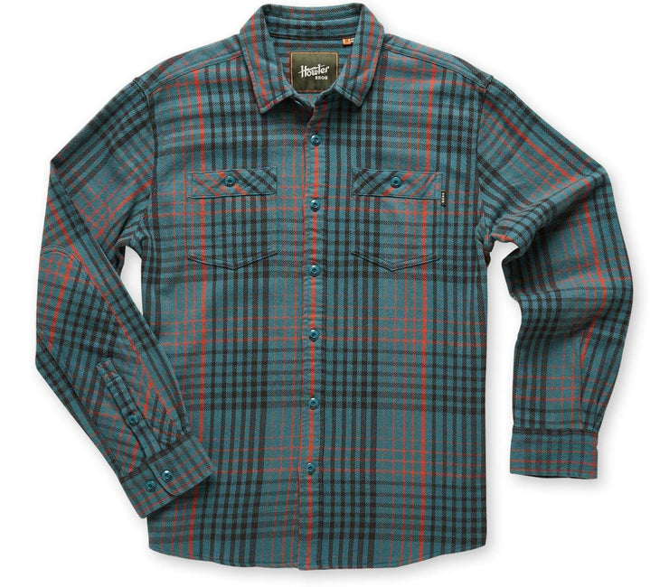 Rodanthe Flannel - Mirage Blue Tops Howler Bros Mirage Blue S