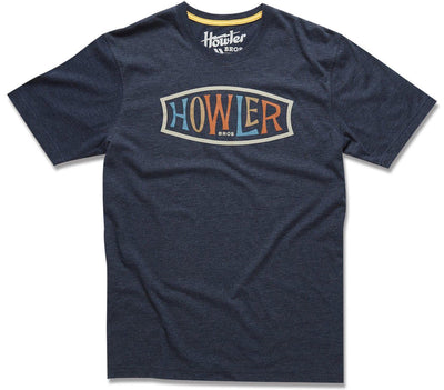 Endless Howler Tee - Navy Tops Howler Bros Navy S