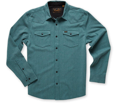 Stockman Snapshirt - Teal Tops Howler Bros Teal S