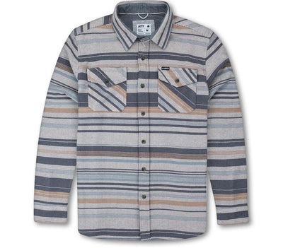 Horizon Flannel - Slate Tops Jetty Slate S