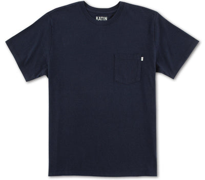 Base Pocket Tee - Navy Tops Katin Navy S