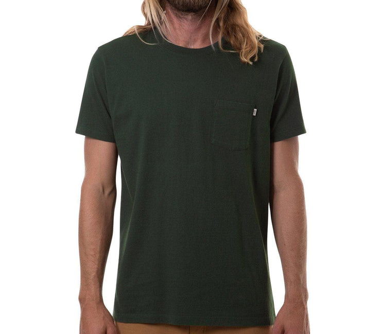 Base Pocket Tee - Pine Tops Katin Pine S