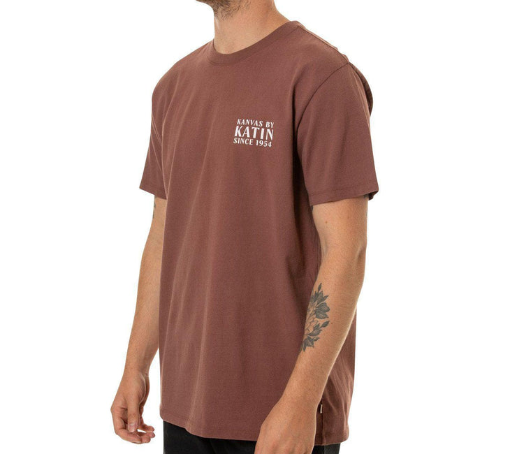 Bungalow Tee - Dark Clay Tops Katin