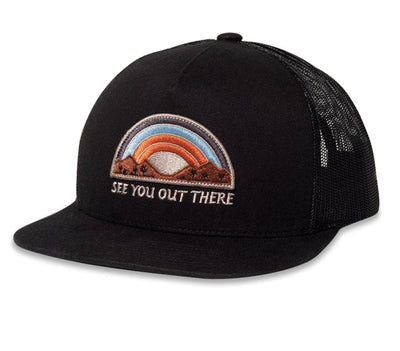See You Out There Hat - Black Headwear Katin Black