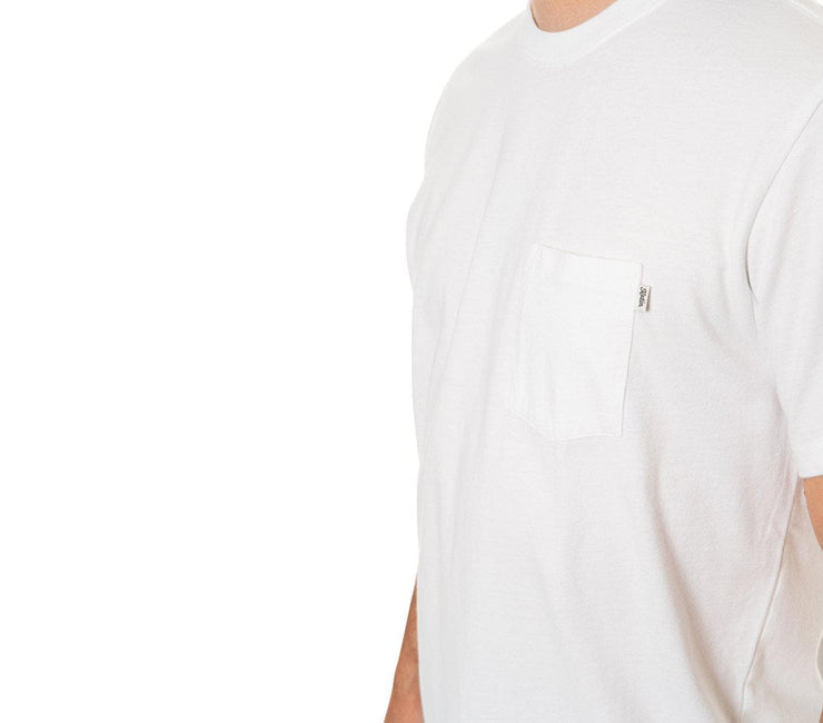 Base Pocket Tee - White Tops Katin