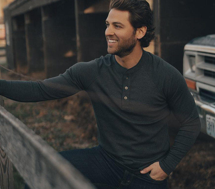 Puremeso Henley Longsleeve Tops The Normal Brand