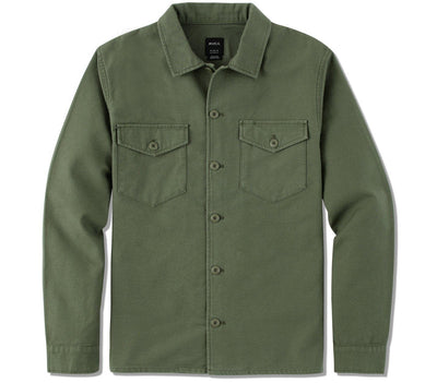 Fubar Shirt Jacket - Sequoia Green Outerwear RVCA Sequoia Green S