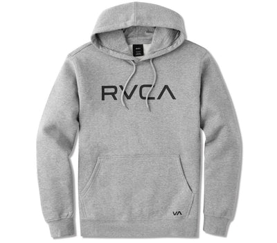 Big RVCA Hoodie - Athletic Heather Outerwear RVCA Athletic Heather S