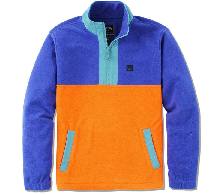 Boundary Mock Lite Polar Fleece - Malibu Outerwear Billabong Malibu S