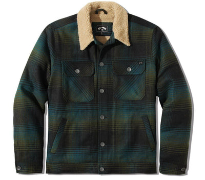 Barlow Sherpa Jacket - Bay Blue Outerwear Billabong Bay Blue S