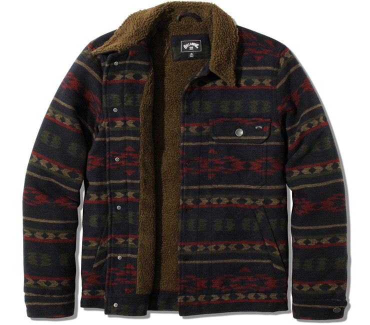 Barlow Sherpa Jacket - Midnight Outerwear Billabong