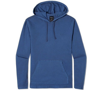 PTC Hooded Long Sleeve Tee Tops RVCA Indigo S