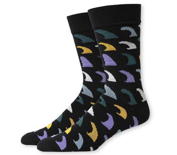 Fins Socks - Black Yellow Accessories Richer Poorer Black Yellow