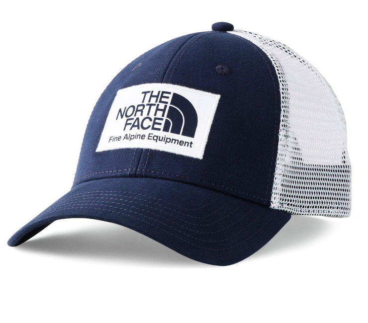 Mudder Trucker Hat - Navy/White Headwear The North Face Navy/White