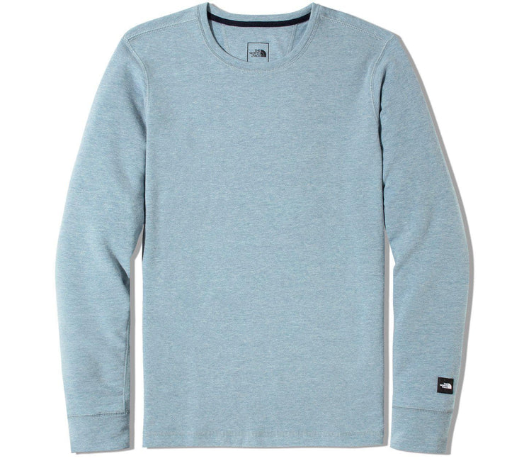 Terry Crew Long Sleeve - Blue Tops The North Face Blue S