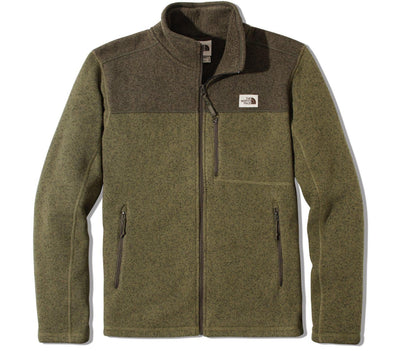 Gordon Lyons Full Zip - Olive Green Outerwear The North Face Olive Green S