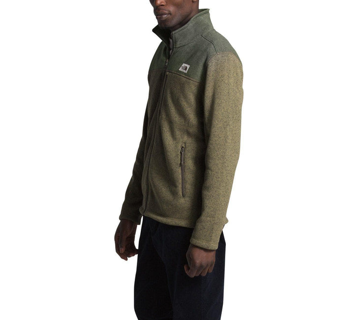 Gordon Lyons Full Zip - Olive Green Outerwear The North Face