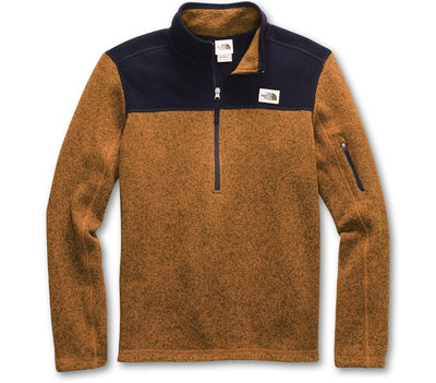 Gordon Lyons ¼ Zip Pullover - Timber Outerwear The North Face Timber S
