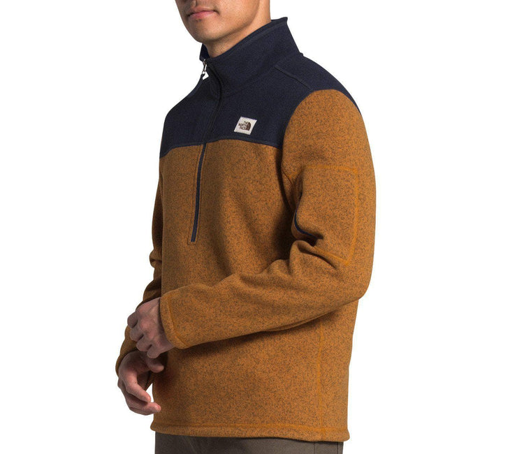 Gordon Lyons ¼ Zip Pullover - Timber Outerwear The North Face