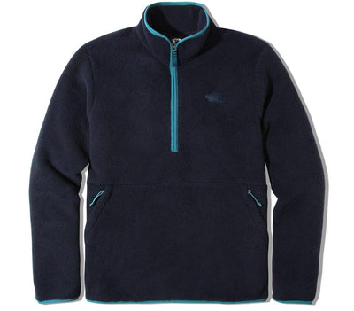 Dunraven Sherpa ¼ Zip Pullover - Navy Outerwear The North Face Navy S