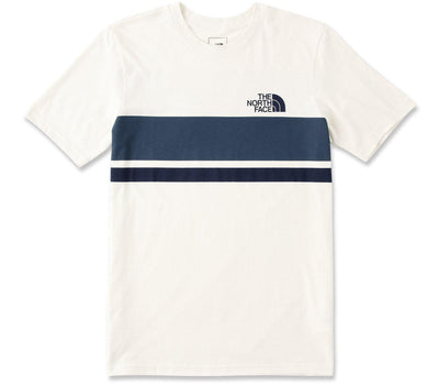 Horizon Lines Tee - Vintage White Tops The North Face Vintage White S