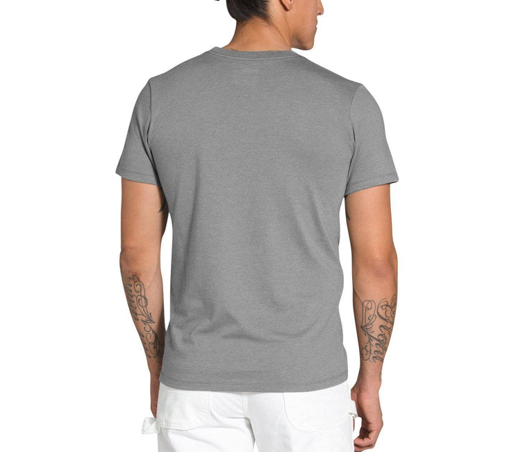 Dome Jumble Heavyweight Tee - Medium Grey Heather Tops The North Face