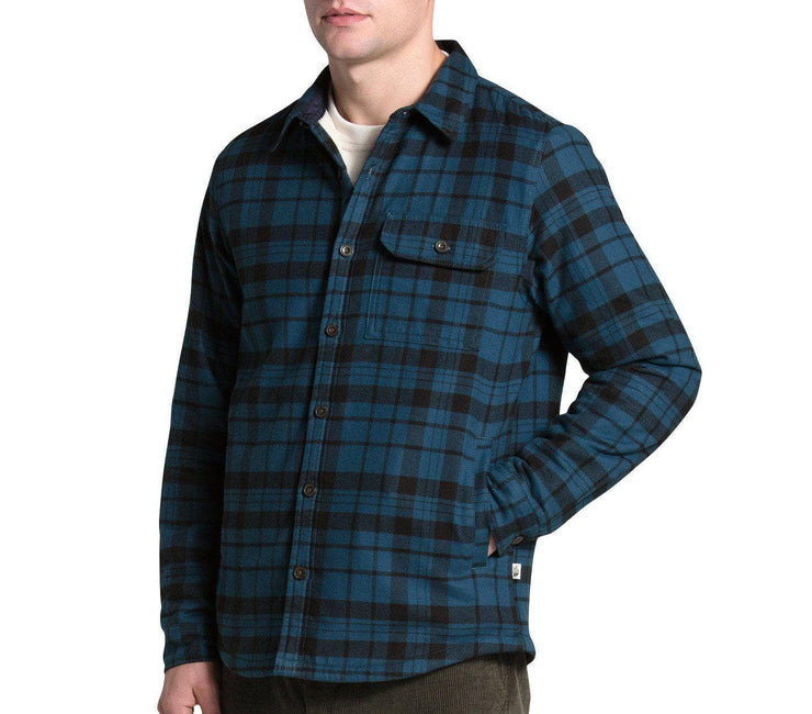 Campshire Shirt - Blue Wing Teal Outerwear The North Face