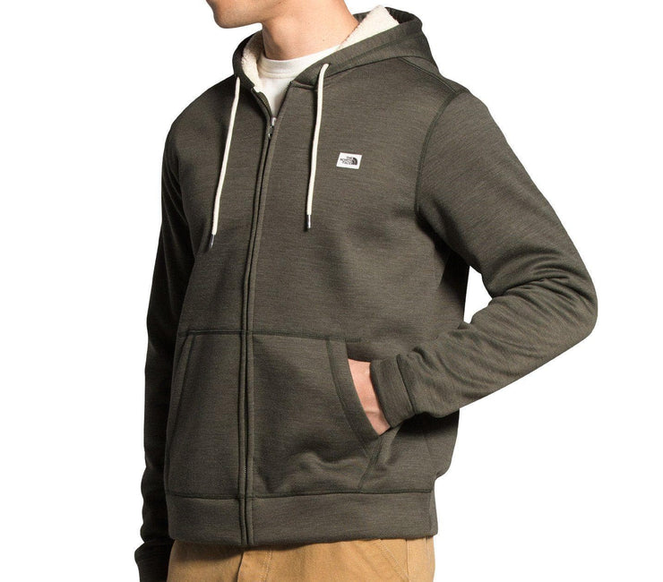 Sherpa Patrol Full-Zip Hoodie - New Taupe Green Outerwear The North Face
