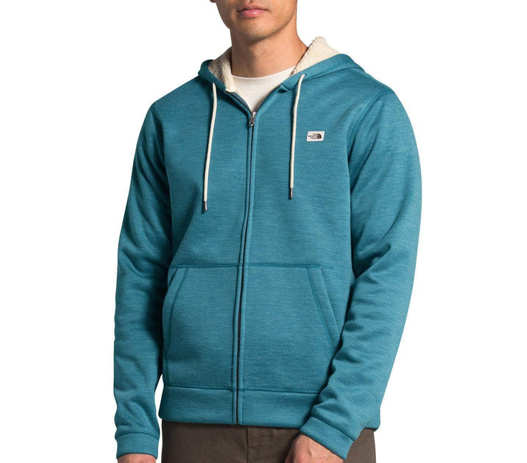 Sherpa Patrol Full-Zip Hoodie - Mallard Blue Outerwear The North Face