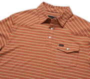 Zuma Ranchero Jacquard Polo - Copperpot Tops Howler Bros