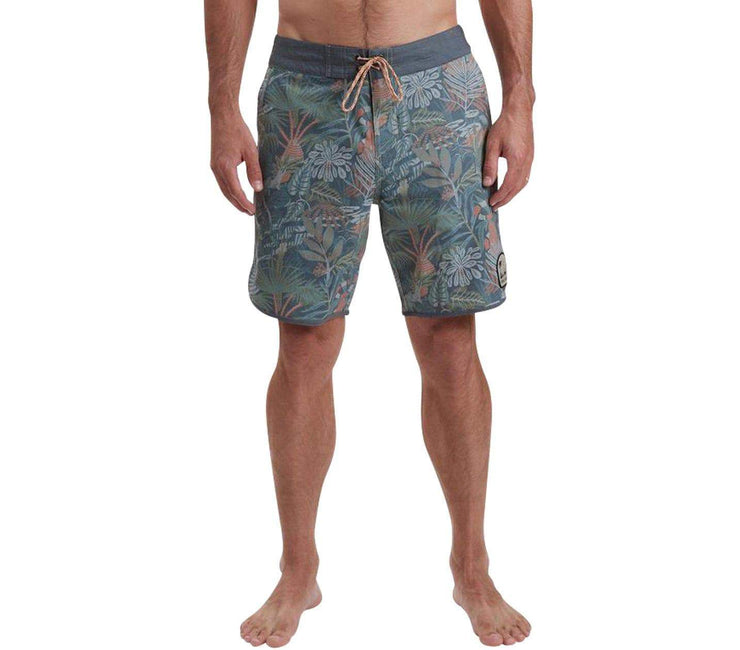 "Glades Print Bruja Stretch Boardshorts - 8.5"" Inseam Bottoms Howler Bros"