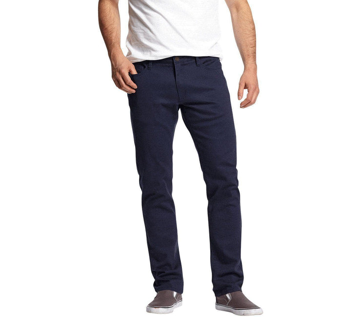 Wallburg Chino Pant Slim Fit - Navy Bottoms Flag & Anthem