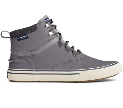 Striper Storm Waterproof Boot Footwear Sperry Grey Suede 8