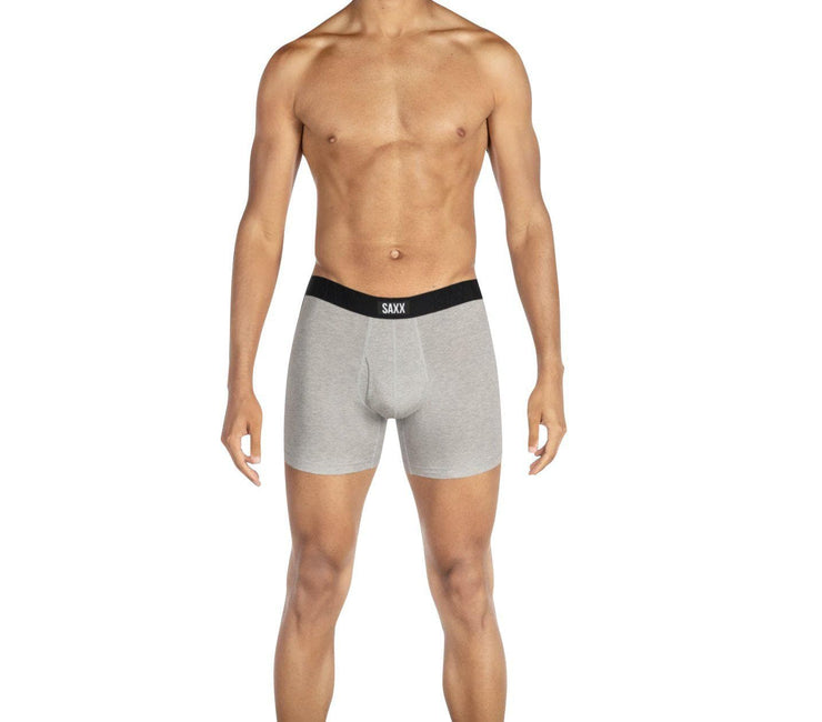 Undercover Boxer Brief - Grey Heather Accessories Saxx